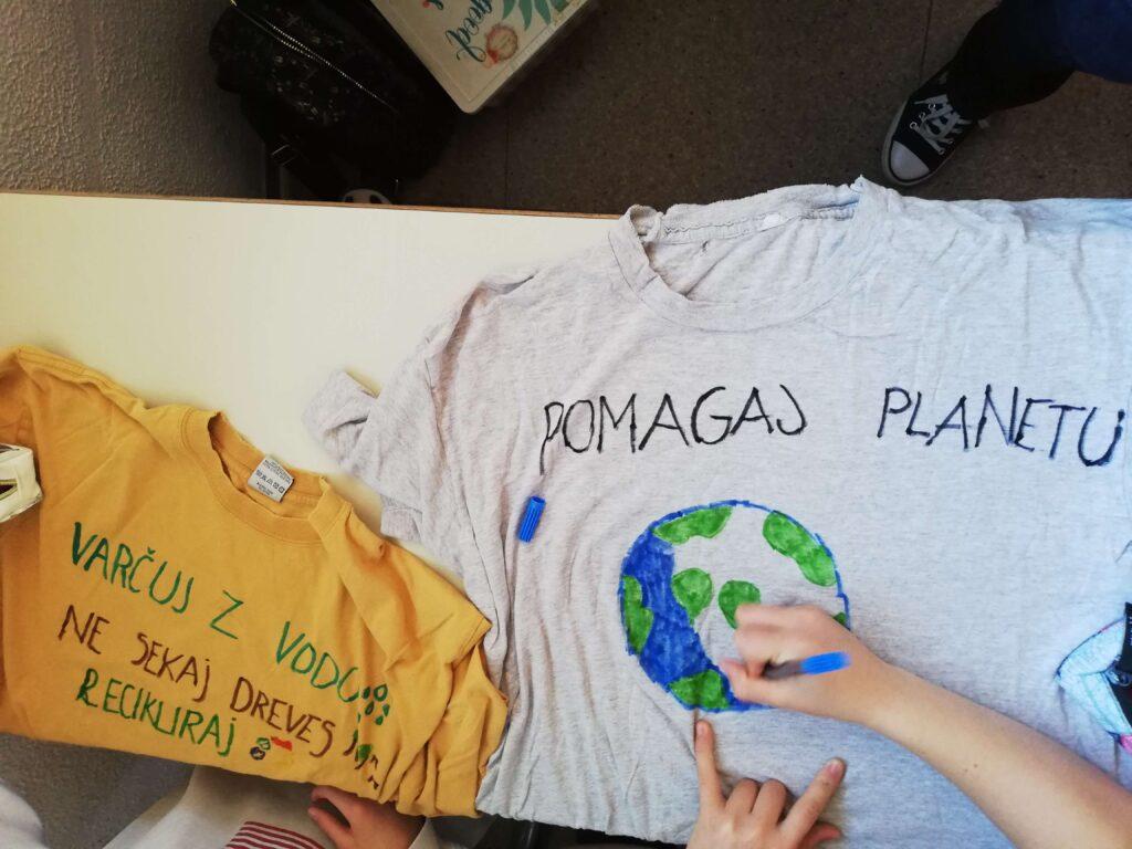 Pomagaj planetu majica
